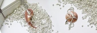 gioielli in argento e Bronzo